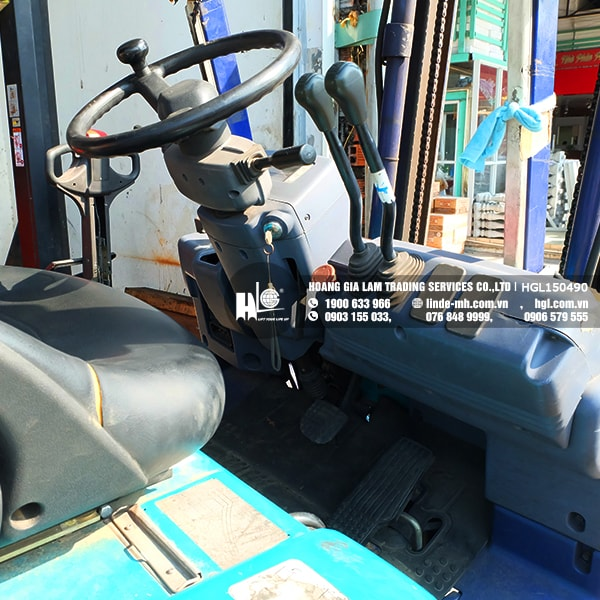 Xe nâng điện KOMATSU FB15EX-8 (HGL150490)