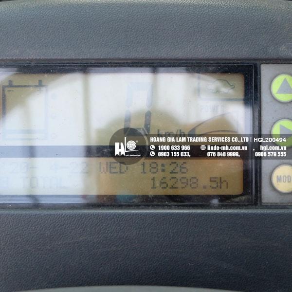 Xe nâng điện KOMATSU FB20EX-11 (HGL200494)
