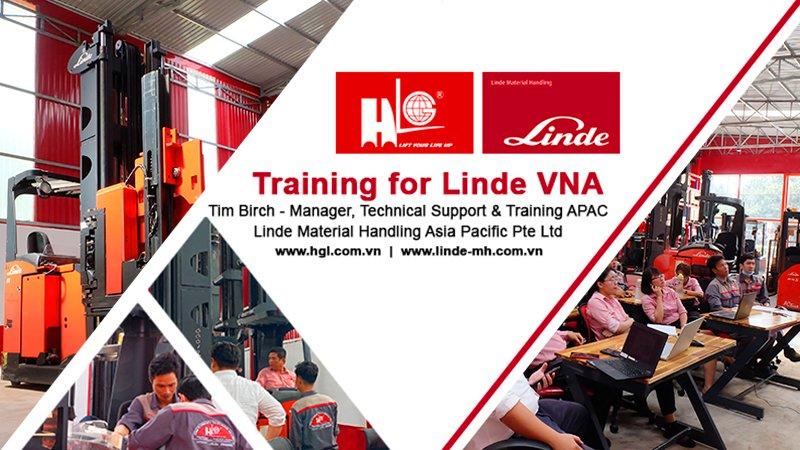 Ngày 21 – 22/10/2020 vừa qua, đội ngũ nhân viên Kỹ thuật HGL đã tham dự training online dòng xe nâng VNA Linde A series 5222.